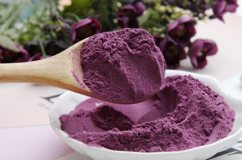 紫薯粉在年糕里的运用
